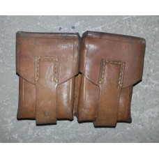 Usnjena torbica, 2 žepa, manjša