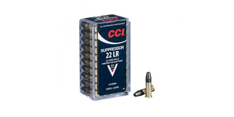 CCI Suppressor .22lr