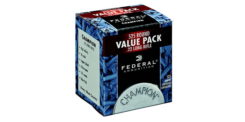 Federal 22 LR Champion Value Pack
