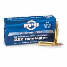PPU .222 Remington SP 3,24g (50gr)