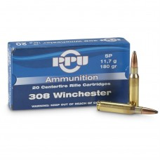 PPU .308 Win Match 11,34g/175gr