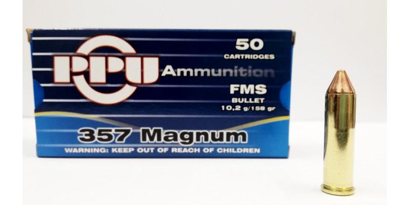PPU .357 Mag FMS 10.2g 158gr