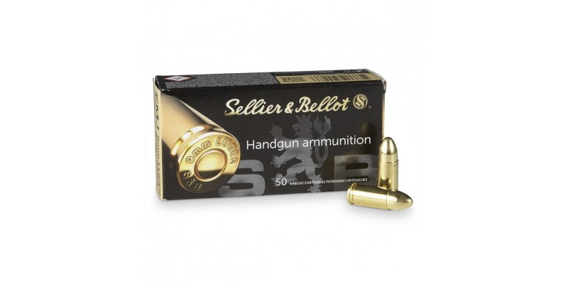 Sellier & Bellot 9x19 Subsonic FMJ 140gr