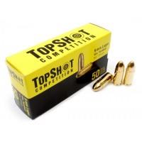 Topshot Competition 9 mm FMJ, 8g/124 grs