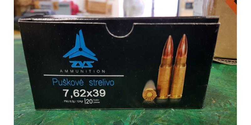 ZVS 7,62x39 FMJ