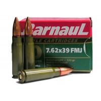 BARNAUL 7,62x39 FMJ 123gr