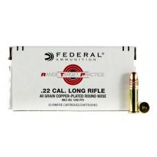 Federal 22 LR Range, Target, Practice 2,59g / 40gr CP