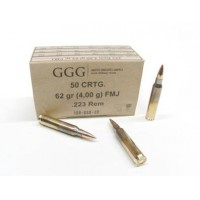 G.G.G. .223 Remington 62gr FMJ (5,56x45)