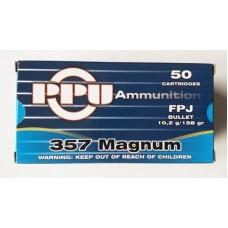 PPU .357 Mag FPJ 158gr