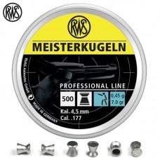 RWS Meisterkugeln 5,5 mm, 0,91g (500) puška